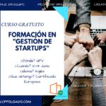 formación en _gestión de startups_